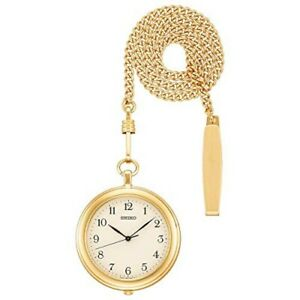 2019 NEW SEIKO Watch Pocket Watch with gold case chain SAPP008 from japan