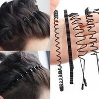 Unisex Sport Headband Women Hair Hoop Wavy Hairband Headwear Fashion