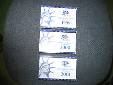 1999 to 2012 Proof Set- Mint Condition 13 proof sets Beautiful Set One Owner