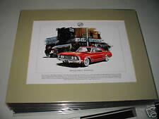 Buick Riviera Mounted colour USA car Print
