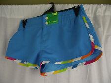 BNWT Ladies Sz 8 Target Brand Aqua Blue Short Style Board Shorts Swim Shorts