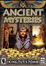 BRAND NEW Lost Secrets: Ancient Mysteries -- King Tut's Tomb (Windows/Mac, 2010)