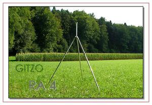 GITZO RA 4 JUMBO - TRIPOD 200cm, Aluminium, No Head, IN VERY GOOD CONDITION