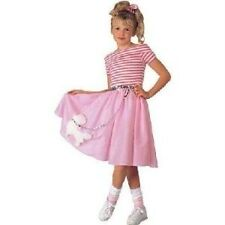 Nifty Fifties Poodle Dress Costume ~ Girls M 8-10 ~ NEW