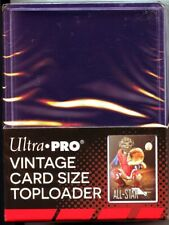1 Pack of (25)  Ultra Pro 2 5/8 x 3 3/4 Vintage Sized Toploaders #81966