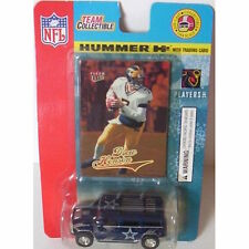 NFL H2 Cowboys Hummer 1:64 with Drew Henson Rookie Card - New in Package