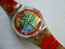 1996 Fall Winter Collection Swatch Watch Ricecake GK217.