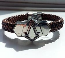 Assassin's Creed Logo Bracelet Jewelry Ezio Gaming PS4 XBOX PC UK Seller