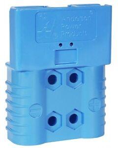 ANDERSON PLUG SBE® 160 BLUE 48V CONNECTOR FORKLIFT TRUCK BATTERY CHARGER PLUG