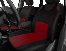 2 ECO LEATHER FRONT SEAT COVERS for VAUXHALL MERIVA