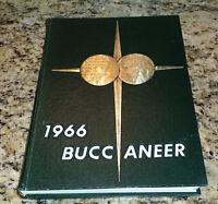 1966 East Carolina College ECU Buccaneer Yearbook Annual Greenville NC Pirate