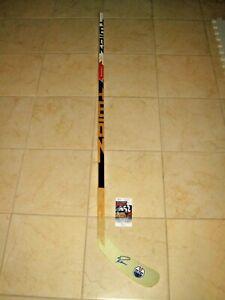 Ryan Nugent Hopkins signed Edmonton Oilers NHL Logo Hockey Stick JSA #FF00954