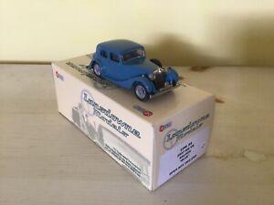 LANSDOWNE MODELS 1/43 LDM84 1937 MG VA SALOON BLUE WHITE METAL MINT