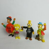 Simpsons Figure Burger King Toys pack of 4 1990/ 2001/2011