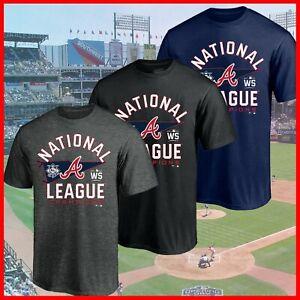 HOT HOT - Atlanta Braves 2021 National League Champions Locker Room T-Shirt
