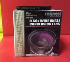 RAYNOX HD-6600 PRO WIDE ANGLE LENS 43mm+UV 72mm Canon VIXIA HV40 HV30,EOS-M 22mm