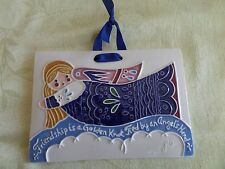 J. Duban Designs Decor Hanging Tile  Angel  - Friendship is a Golden Knot