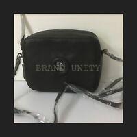 Mimco Daydream BOX Hip Across body Hand Bag BNWT Black Matt Free Post