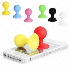2pcs Mini Caoutchouc Ventouse Support De Boule téléPhone iPhone 3G S 4 G 4S iPod