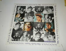 MADONNA - The Early Years / Give It To Me  - LP Receiver Records Limited 1991 UK