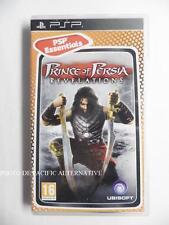 jeu PRINCE OF PERSIA REVELATIONS sur sony PSP en francais game spiel complet TBE