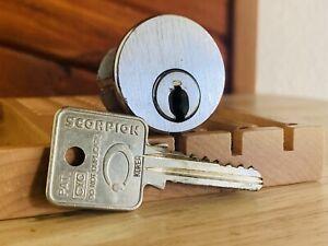 Scorpion High Security Mortise Lock w/ Key & Grub Screws Locksport