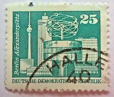 Germany stamps - DDR Berlin Alexanderplatz    25 Pf - FREE P & P