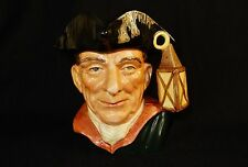 "Toby Character Jug (Large) ~ ""Night Watchman"" ~ Royal Doulton D6623 ~ #TOBY_J07"