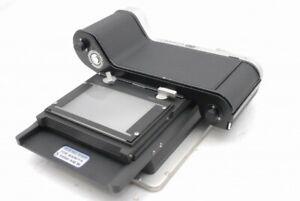 Exc Toyo View 4x5 Camera Quick Slider w/Mamiya 6x9 Roll Film Holder *YC351