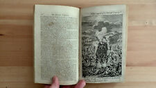 PRINTED 1770 THE UNIVERSE DISPLAYED INDIANS NORTH AMERICA FLORIDA CANADA HURON