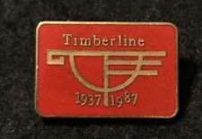 TIMBERLINE 1937-1987 50 Year Anniversary Skiing Ski Pin OREGON Travel Resort