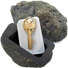 Vanitek Hide-a-Spare-Key Fake Rock Looks & Feels Like Real Stone Safe For Garden