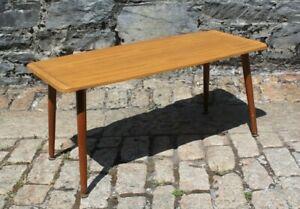 Vintage 'Formwood' Mid Century Coffee Table - Dansette Legs - 91.5x41x41cm