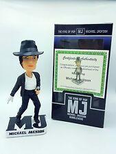 Michael Jackson Bobble Head MJ King of Pop Wobbler COA New, in Box