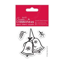 Create Christmas (Papermania) Craft Small Clear Stamps - Christmas Bell