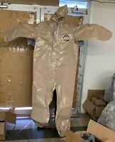 BRAND NEW Kappler Zytron 300  Chemical HazMat Coverall WITH Hood LG-XL LARGE-XL