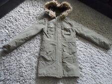 Women's hooded coat size 8