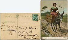 More details for ireland h + k packet m2 postmark 1903 munster galway girl ppc