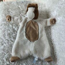 Douglas Baby Pony Horse Security Blanket Sschlumpie Brown Cream Tan Lovey