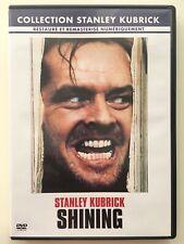 Shining DVD NEUF SANS BLISTER Stanley Kubrick - Jack Nicholson