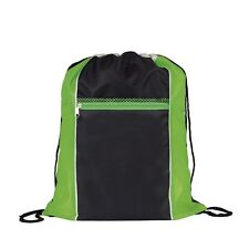 Neon Drawstring Bags 4 X Colours Sport Gym School Swimming Holiday Travel Beach Green