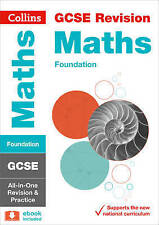 GCSE Maths Foundation Tier All-in-One Revision and Practice by Collins GCSE...