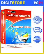 🔥🔥 MiniTool Partition Wizard 9.1 Pro ✔️ Lifetime License ✔️ Latest Version 🔥