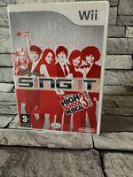 BOXED - Disney Sing It: High School Musical 3 - Senior Year (Nintendo Wii, 2008)