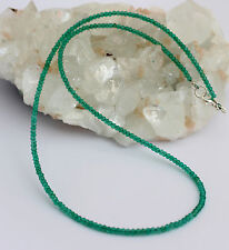 Verde Ónix COLLAR,cadena de piedras preciosas,tallado en Facetas Collar
