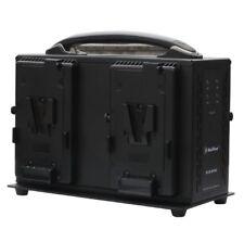 Sony V Lock Battery Charger / Quad Charger for V Mount Batteries / V-Lock Charge
