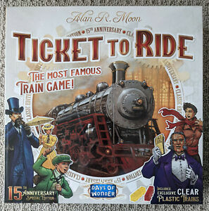 TICKET TO RIDE 15th Anniversary Special Edition New in Shrink. Days of Wonder