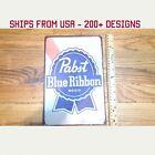 Pabst Blue Ribbon Beer Sign PBR Sign PBR Beer Sign PBR Metal Sign PBR Gifts Gift