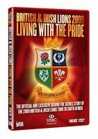 BRITISH AND IRISH LIONS 2009 Living with the Pride NEW SEALED UK REGION 2 DVD