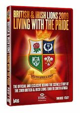 BRITISH AND IRISH LIONS 2009 Living with the Pride NEW AND SEALED UK R2 DVD